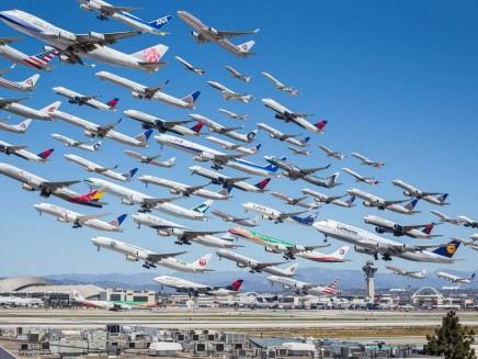 Ako vyzerá 8 hodín na letisku LAX